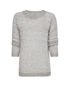 MANGO - Mohair curly knit jumper