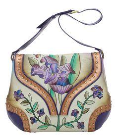 Look what I found on #zulily! Iris Leather Shoulder Bag #zulilyfinds