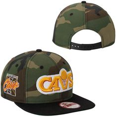 Cleveland Cavaliers New Era Primary Fan Redux Original Fit 9FIFTY Adjustable Hat - Camo