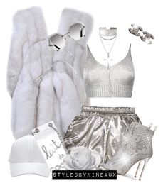 """""""Shine Bright Like A Diamond"""" by styledbynineaux ❤ liked on Polyvore featuring Boohoo, David Yurman, Chanel and Daum"""