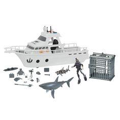 Shark Cage, Emergency Lighting, Marine Biology, Guinea Pigs, Animal Kingdom, Planets, Action Figures, Boat, The Originals