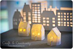 Las ideas más geniales para ti y para tu casa!: DIY unas casitas de fieltro para ILUMINARNOSlas ideas mas geniales de decoracion y moda para tu casa y para ti-tendencias e ideas faciles para estar al día