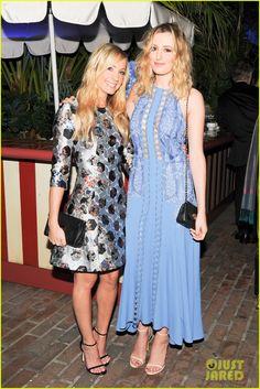 Golden Globes Nominee Rosamund Pike & Camilla Belle Bring Star Power to Mulberry Dinner   rosamund pike camilla belle mulberry dinner 05 - Photo