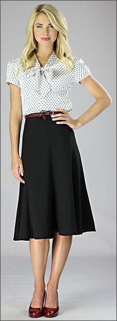 Woven Mid Length Skirt [W2404] - $39.99 : Mikarose Fashion, Reinventing Modest Fashion