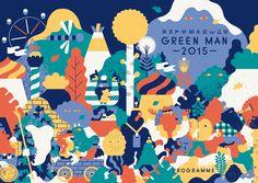 Green Man festival art: Hedof discusses his wonderful character illustrations for the folk festival - Digital Arts