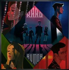K.A.R.D wallpaper fanart