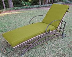 Special Offers - Outdoor Patio Chaise Lounge Cushion with Solid Fabric (74 in.  Paprika) Review - In stock & Free Shipping. You can save more money! Check It (January 06 2017 at 02:56PM) >> http://gardenbenchusa.net/outdoor-patio-chaise-lounge-cushion-with-solid-fabric-74-in-paprika-review/
