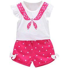 020fd61330 Ropa Bebe Niña Recien Nacido Verano 0 a 3 6 12 18 24 Meses - 2PC
