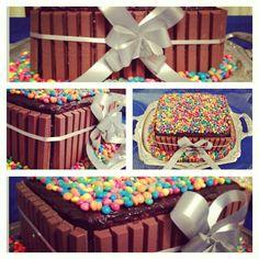 Kit Kat cake!