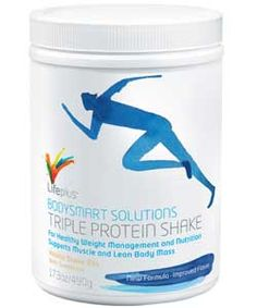 Lifeplus - Gabi und Josef Winkler - Bodysmart Solutions Triple Protein Shake-Vanilla