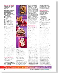 Bake it till you make it: Sugar and spice and all things nice - clipped from page 68 of Better Homes and Gardens, Dec 2013 issue by the Netpage app.