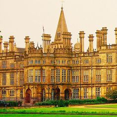 Burghley House in Lincolnshire, England