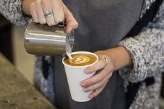 Lou from lucky surf an supply on the central coast Australia  ~ her love of coffee shines through every cup
