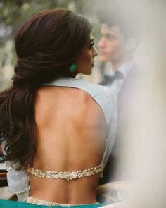 "2,674 Likes, 16 Comments - M A N I J A S S A L (@manikjassal) on Instagram: ""Baby Got Back- MANI JASSAL SS17 Bridal Collection published in @arizonaweddings . Model is wearing…"""