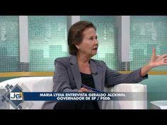 Maria Lydia entrevista Geraldo Alckmin, governador de SP/PSDB - YouTube