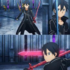 Kirito Sword, Sword Art Online Kirito, Asuna Sao, Naruto Gaara, Amazing Pics, Online Art, Manga Anime, Prints, Movies
