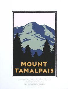Mount Tamalpais from the GGNRA series