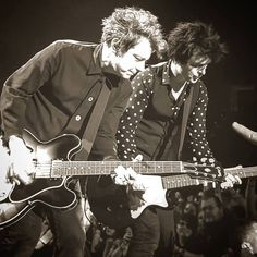 Billie Joe Armstrong and Jason White from Green Day
