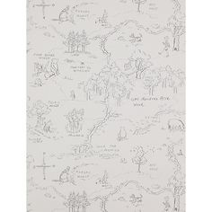 Buy Jane Churchill One Hundred Acre Wallpaper Online at johnlewis.com