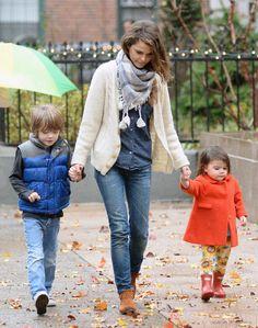 Keri Russell Street Style- Mom Style Goals