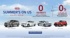 Kia's Summer's On Us Sales Event is going strong at South Hills Kia!