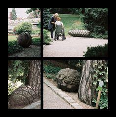 """FRUITS OF OUR TREES"" - sculptures aut. Tadeusz Adamowski"