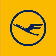 Lufthansa — Designer: Otto Firle, modified by Otl Aicher; Firm: In-house; Year: 1918, modified in 1969