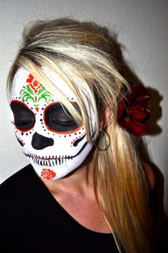Day of the Dead makeup:  www.kissandmakeupdallas.com