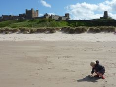 Bamburgh Castle and Beach, Northumberland, May 2011 Jo Hinson