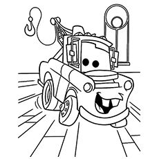 Disney Cars Coloring Sheets Awesome 6 Free Printable Disney Cars tow Mater Coloring Pages Truck Coloring Pages, Cartoon Coloring Pages, Disney Coloring Pages, Coloring Pages To Print, Free Coloring Pages, Printable Coloring Pages, Coloring Books, Disney Cars Characters, Disney Pixar Cars