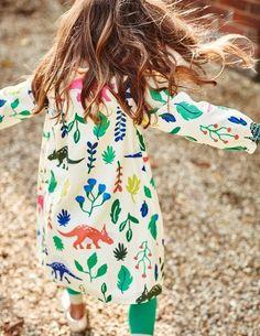 Florasaurus Smock Dress 33415 Day Dresses at Boden