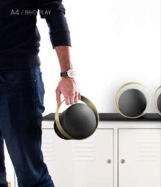 Constricted Sound Systems - The Bang & Olufsen A4 Speakers Emit Music Only for the Listener (GALLERY)