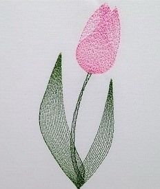 Needlepoint Patterns, Tulips, Watercolor Painting, Manualidades