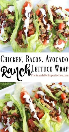 It's like a BLTA in lettuce wrap form, topped with ranch dressing. So delici… It's like a BLTA in lettuce wrap form, topped with ranch dressing. So delici…,Food drink It's like a BLTA in lettuce wrap form, topped with ranch dressing. So delicious! Frango Bacon, Keto Lunch Ideas, Office Lunch Ideas, Healthy Recipes For Lunch, Keto Meals Easy, Keto Diet Meals, Clean Eating Recipes For Weight Loss, Weight Loss Meals, Healthy Quick Recipes