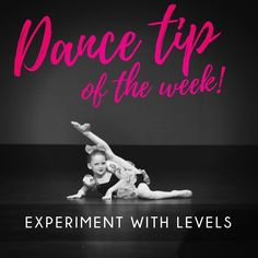 From grounded floor work to soaring leaps, playing with levels is tons of fun and will add dimension to your dancing! Dance Tips, Performing Arts, Dancing, Neon Signs, Floor, Ads, Play, Movie Posters, Instagram