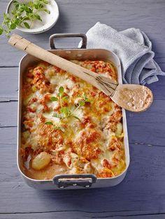 Gnocchi-Thunfisch-Auflauf