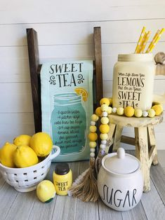 Excited to share this item from my shop: When Life Gives You Lemons Farmhouse Beads // Wooden Bead Garland Farmhouse Style Kitchen, Modern Farmhouse Kitchens, Country Kitchen, Farmhouse Decor, Country Farmhouse, White Kitchens, Dream Kitchens, Country Chic, Rustic Kitchen