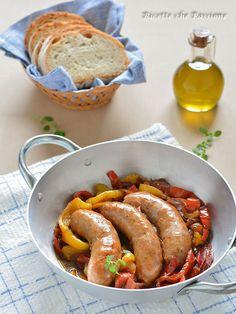 SALSICCIA con Peperoni e Cipolle in Agrodolce