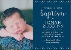 Christening invitation template psd free download templates free polka dot border boy foil baptism invitations stopboris Image collections