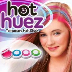As Seen On Tv Hot Huez- Green & Purple P/2-each, Assorted