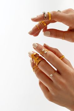 DIY Midi Rings DIY Bagues De Phalanges DIY Knuckle Rings - Cute diy wire rings for middle phalanges