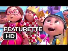 Despicable Me 2 Featurette - Gru's Daughters, They're all just too cute!