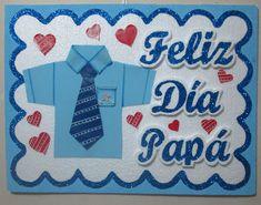 Detallitos Eli Craft: Cartel para #felizdía #papá, #fiesta moldes de letras, envíos digitales Classroom Decor, Fathers Day, Scrapbook, Stickers, Handmade, Diy, Crafts, Party Printables, Father's Day