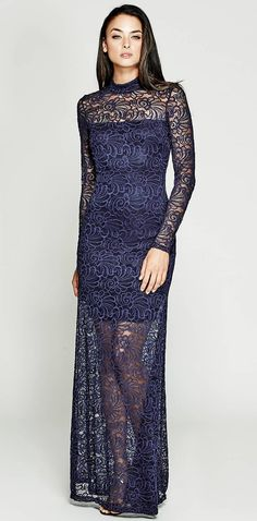 Diana Floral Lace Dress | MARCIANO.com