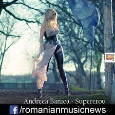 #andreeabanica #supererou #romanianmusicnews #romanianlatestmusicnews #romania #romanians #romanianmusic