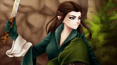 Арвен  Arwen (Lord of the Rings) by noodles919 on DeviantArt