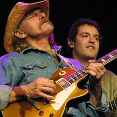 Dickey Betts (Allman Brothers Band) Major southern rock guitarist.  How about Dickey and Stevie Ray Vaughn jamming.  Sad it will never happen.