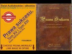 Prawa sukcesu. Tom XV i XVI - Napoleon Hill - Audiobook, mp3 - YouTube