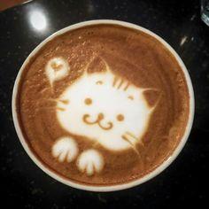 . Cappuccino Art, Coffee Latte Art, Coffee Barista, I Love Coffee, Coffee Cafe, My Coffee, Coffee Shop Photography, Cafe Creme, Coffee Flower