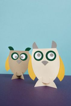 Paper Owls - sold by Papiermier.be